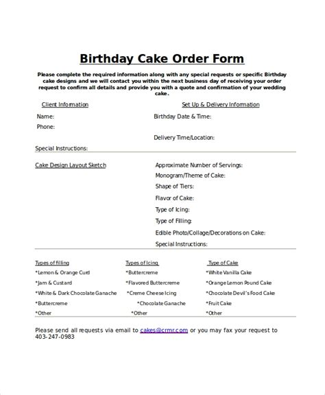order form template   word  documents