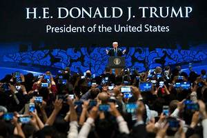 Trump Pitches 'America First' Trade Policy at Asia-Pacific ...