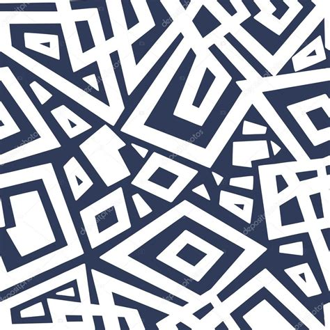 Detailed seamless geometric pattern in pale tones