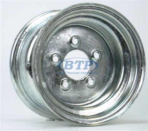6 Lug Boat Trailer Tires by Galvanized Boat Trailer Wheel 10 Inch X 6 Inch 5 Lug 5 On