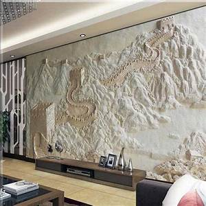 Aliexpress.com : Buy Wallpaper Great Wall Sandstone 3D ...