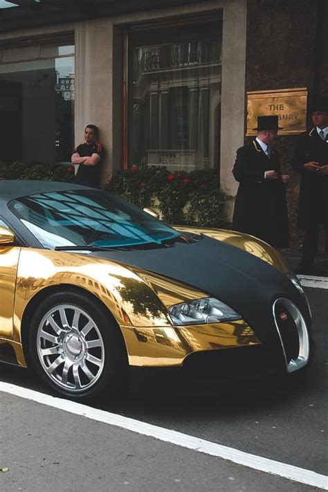 gold and black bugatti this matte black gold bugatti veyron is as majestic as