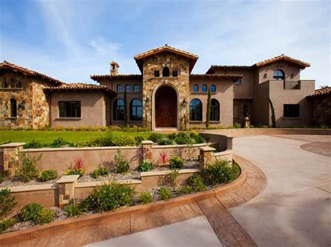 Haus Italienischer Stil by Tuscan Style House Plans Tuscan Style Homes With Fancy