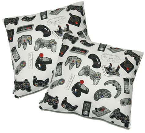 Bed Gaming Pillow by Controller Pillows Sweet Dreams Technabob