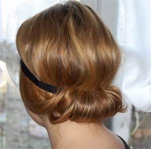 Chignon Cheveux Mi Long : chignon pour cheveux mi long ~ Melissatoandfro.com Idées de Décoration