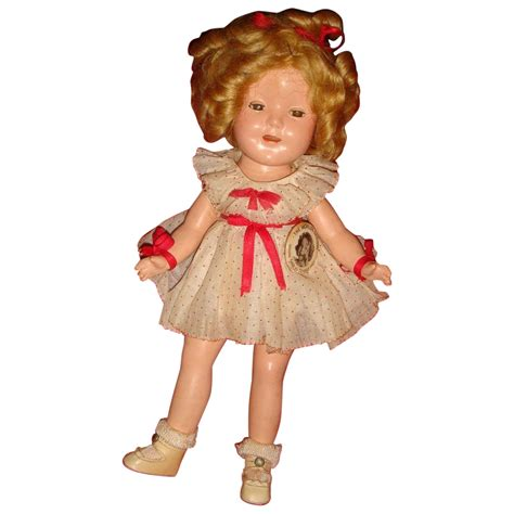 shirley temple doll original clothes shirley temple rare size 11 composition doll 1930 s from loghomeantiques on
