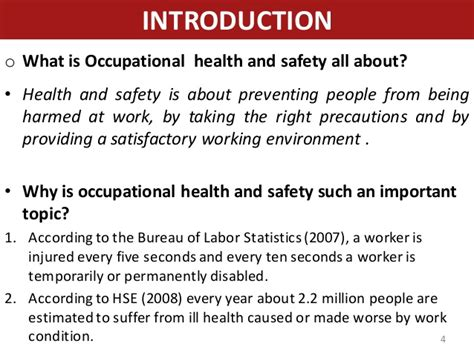 Questions For Occupational Health by Occupational Health And Safety Hazard And Risk Assessment