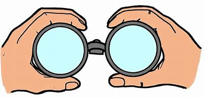 Binoculars Clipart Looking Through Clip Cliparts Data