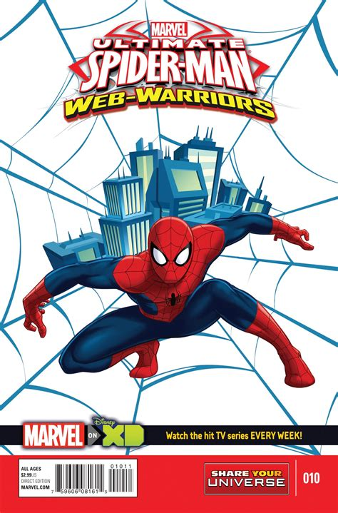 preview ultimate spider man web warriors   comiccom