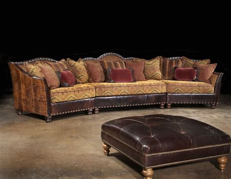 western sectionalrustic sectionalwestern family room