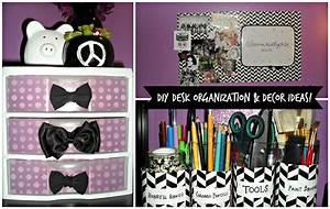 DIY Desk Organization & Decor Ideas! - YouTube