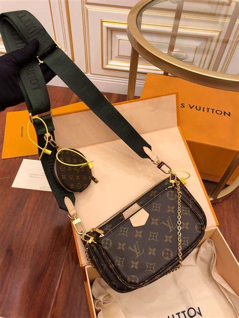 louis vuitton multi pochette accessoires khaki   replica handbags reviews