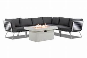 Lounge Set Aluminium : loungeset wit aluminium top loungeset wit aluminium with loungeset wit aluminium good fabri ~ Indierocktalk.com Haus und Dekorationen