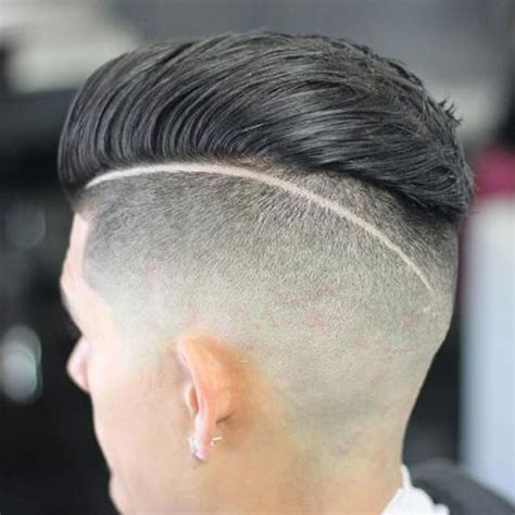 slicked  undercut hairstyle mens hairstyles