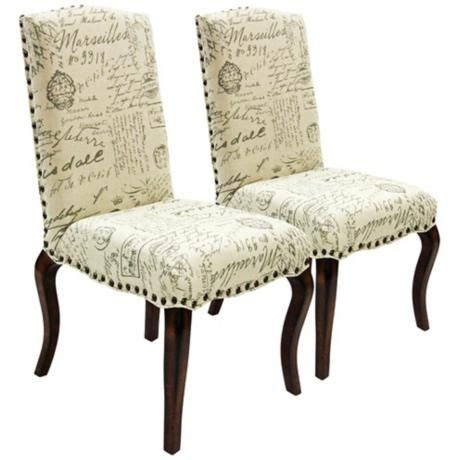 french script madeleine and accent chairs on pinterest