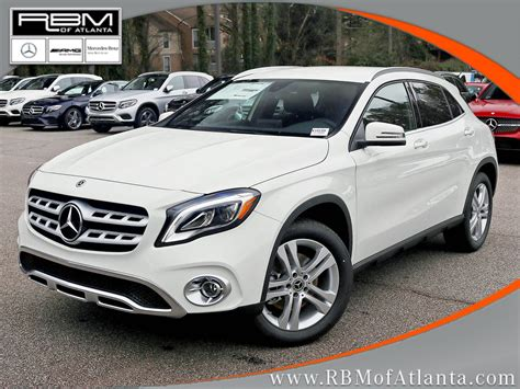 We purchased a 2018 mercedes gla 250 for road trips in our retirement and secondarily for errands around town. New 2018 Mercedes-Benz GLA GLA 250 SUV in Atlanta #K10159 | RBM of Atlanta