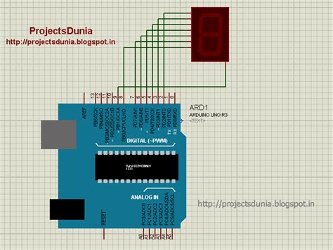 How Interface Seven Segment Display With Arduino