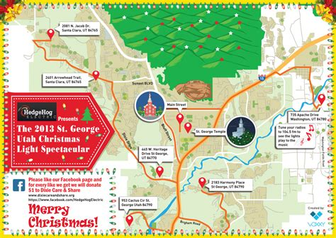 how to find the best christmas lights in town cedar city