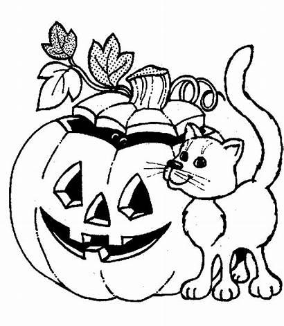 Halloween Coloring Pages Printable Drawings Haloween Things