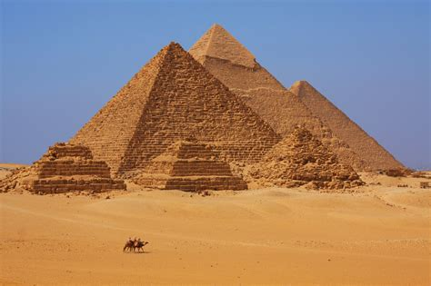 Pyramids Of Giza The Sphinx