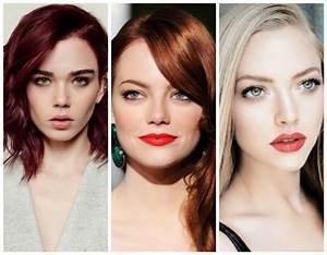 Couleur Qui Va Avec Le Rouge : quelle couleur de cheveux pour yeux vert le guide ultime ~ Melissatoandfro.com Idées de Décoration