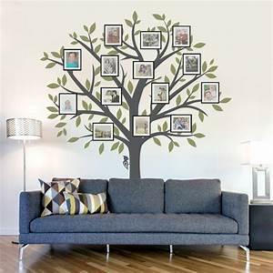 Baum Für Wohnzimmer : 35 wandtattoos baum die einen hauch natur nach hause bringen ~ Michelbontemps.com Haus und Dekorationen