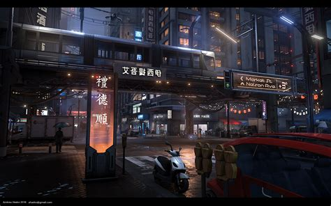 cyberpunk streets environment unreal engine forums