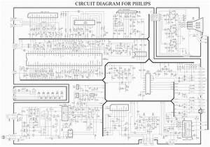Electronic Inspirations  Philips Color Tv Circuit Diagram