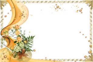 baby sitting mariage transparent gold frame with yellow roses gallery yopriceville high quality images and