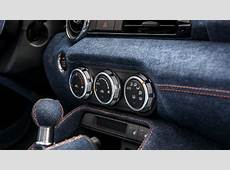 Mazda MX5 Gets Denim Interior From Garage Italia Customs