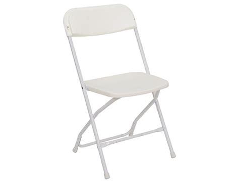 folding chair white allstar rentals