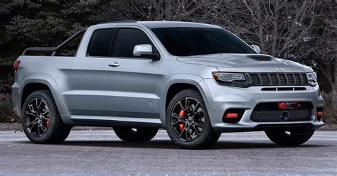 New Dodge Hellcat Truck by Jeep Grand Srt Hellcat Could Be The