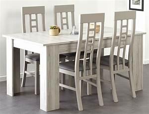 Esszimmer Weiß Grau : esszimmer luena 5 grau wei esstisch 4x stuhl vitrine sideboard kaufen bei vbbv gmbh co kg ~ Markanthonyermac.com Haus und Dekorationen