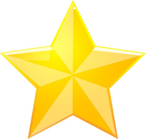 large star shaded yellow clip at clker vector clip royalty free domain
