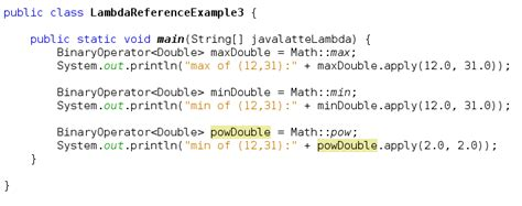 java latte method references in java 8