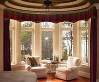 valances for bay windows Bay Window Curtains Ideas for Privacy and Beauty - HomeStyleDiary.com
