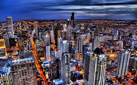 City Lights Hd Wallpapers