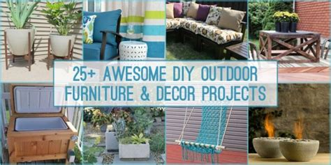 Diy Backyard Decorating Ideas by Remodelaholic 25 Diy Outdoor Furniture And Decor Projects
