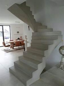 Beton Cire Treppe : beton cire oberfl chen in beton look beton cire betontreppe sichtbetontreppe ~ Indierocktalk.com Haus und Dekorationen