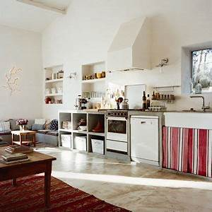 cuisine marie claire and eviers on pinterest With fabriquer sa cuisine en beton cellulaire