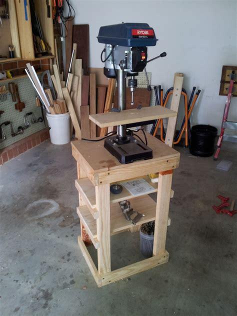 drill press stand plans diy building  linen