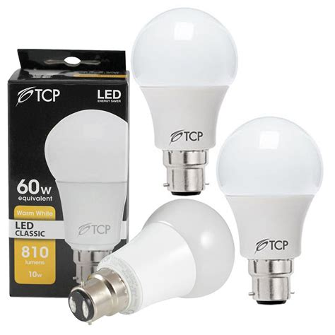 tcp 5w 10w gu10 b22 e27 e14 led light bulbs gls cool white
