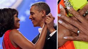 blinged out celeb engagement rings by the numbers With michelle obama wedding ring