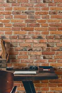 Papier Peint Effet Brique by Indogate Com Decoration Cuisine Avec Papier Peint