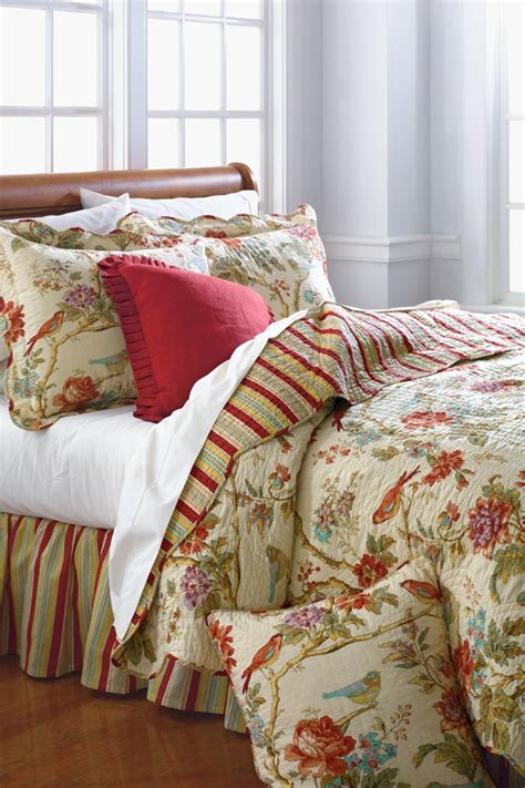 waverly charleston chirp quilt collection belk belk bedding the covers