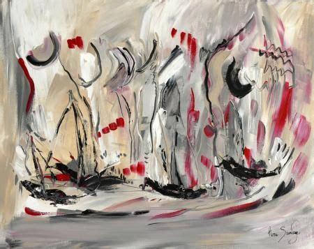 un tableau abstrait gris noir blanc d 226 me sauvage http www amesauvage peinture
