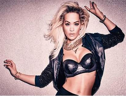 Rita Ora Lingerie Tezenis Cleavage Bold Campaign