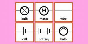 Circuit Symbols Memory Cards