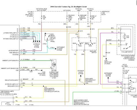 Wiring Diagram 2003 Chevy Tiltmaster 2004 chevy venture wiring diagram electrical website