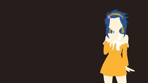 Minimalist Anime Wallpaper - levy mcgarden minimalistic wallpaper by